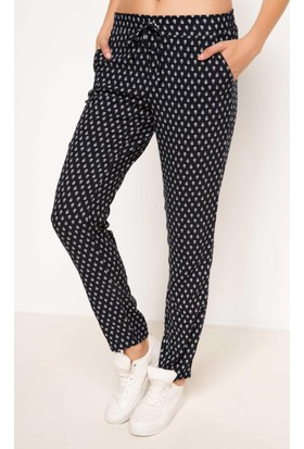 Defacto Yüksek Bel Desenli Pantolon G7057Az17Smnv149