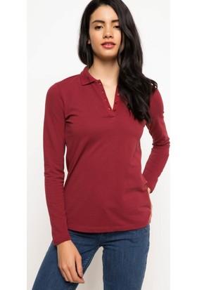Defacto Uzun Kollu Polo Sweat Shirt H0195Az17Wnbr229