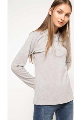 Defacto Uzun Kollu Polo Sweat Shirt H0195Az17Wngr210