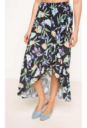 Defacto Desenli Elbise I0115Az17Hsbk46