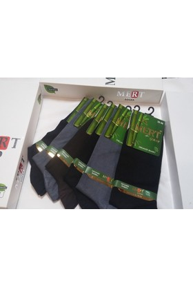 Mert Erkek Organik Bambu Çorabı 6'lı Set