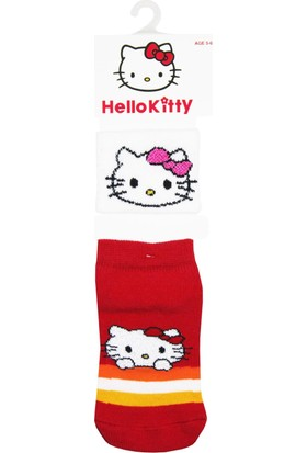 Hello Kitty Patik Çorap