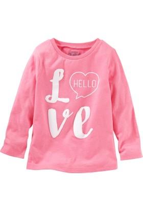 Oshkosh Küçük Kız Çocuk Uzun Kollu Sweatshirt 22342014