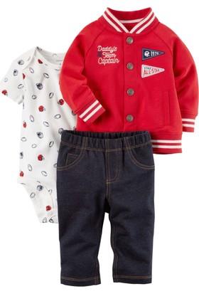 Carter's Erkek Bebek 3'Lü Set Cs 121H639