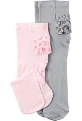 Carter's Kız Bebek 2Li Külotlu Çorap 14957