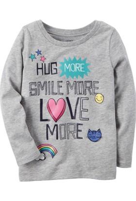Carter's Kız Bebek Uzun Kollu Sweatshirt 235H021