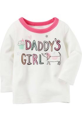 Carter's Kız Bebek Uzun Kollu Sweatshirt 235H026