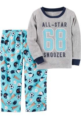 Carter's Küçük Erkek Çocuk 2'Li Polar Pijama 347G356