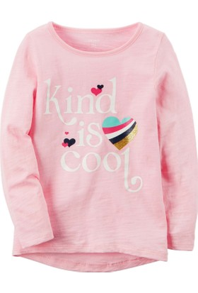 Carter's Küçük Kız Çocuk Uzun Kollu Sweatshirt 253H143