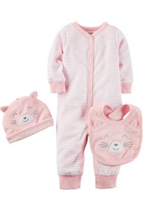 Carter's Layette Kız Bebek Havlu 3'Lü Set 126G737