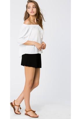 Bexy Andria Beyaz Bluz