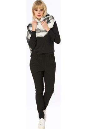 Bexy Castries Dik Yaka Antrasit Basic Bluz