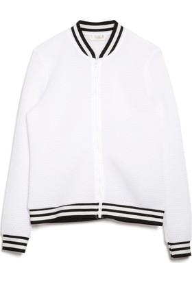 Bexy Amanda Beyaz Ceket