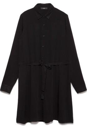 Bexy Alex Siyah Gömlek Tunik
