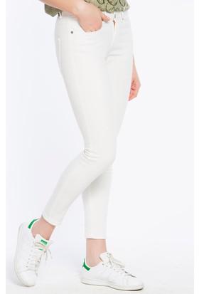 Bexy Monza Beyaz Denim Pantolon
