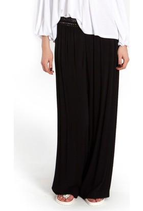 Bexy Terni - Şile Bezi Siyah Pantolon