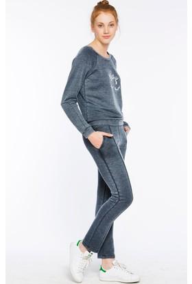 Bexy Prato Lacivert Süpersoft Sweatshirt