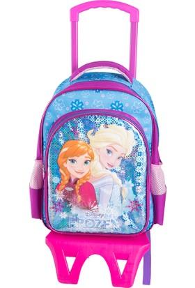 Frozen 89328 Mavi Kız Çocuk 520 Okul Çantası