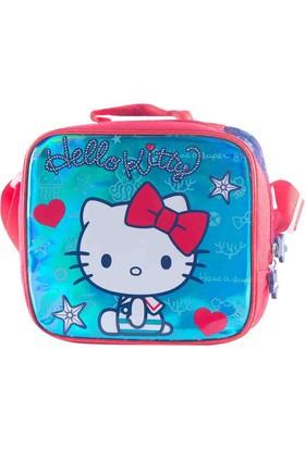 Hello Kitty 88932 Mavi Kız Çocuk Beslenme Çantası