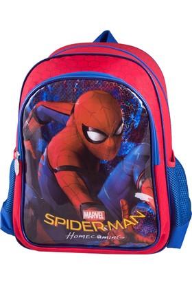 Spiderman 89353 Mavi Erkek Çocuk Okul Çantası