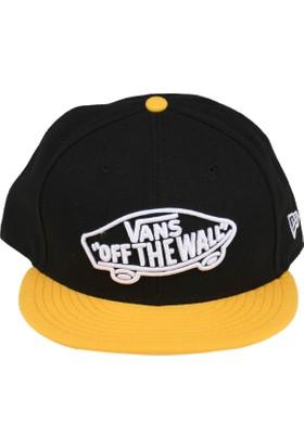 Vans Home Team New Era Sarı Siyah Erkek Şapka