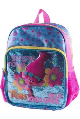 Trolls 89071 Mavi Kız Çocuk Anaokulu Çantası