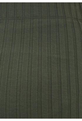 Mavi Kadın Yeşil Uzun Etek
