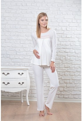 Pelin Bayan Hamile Lohusa Pijama Takım 1255