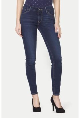 Levi's Kadın Jean Pantolon Super Skinny 710 17778-0023