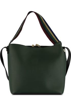 Marjin Jadin Günlük Çanta Yeşil