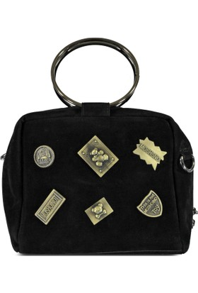 Marjin Salir Günlük Postacı Çanta Siyah