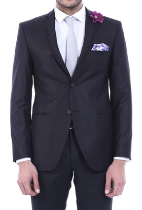 Wss Wessi Yelekli Düz Takım Elbise