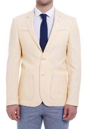 Wss Wessi İki Düğme Göğüs Fermuarlı Ceket