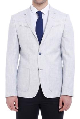 Wessi İki Düğme Göğüs Fermuarlı Ceket