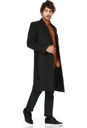 Dewberry P8316 Antrasit Erkek Palto