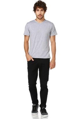 Dewberry T8537 Gri Erkek T-Shirt