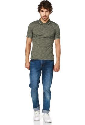 Dewberry T8549 Haki Erkek T-Shirt