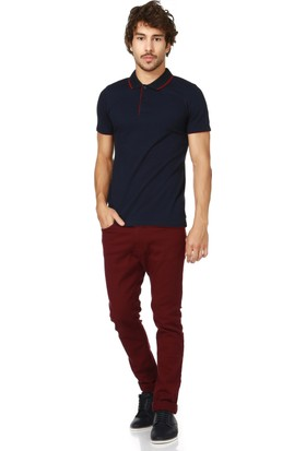 Dewberry T8548 Lacivert Erkek T-Shirt