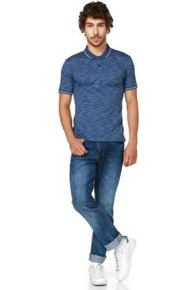 Dewberry T8549 Lacivert Erkek T-Shirt