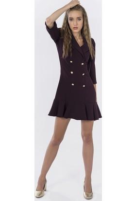 İroni Kadın Elbise 4051