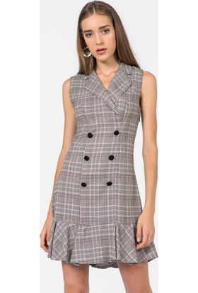 İroni Kadın Elbise 5018