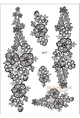 Modamarka-Shop Henna Siyah Tattoo Geçici Dantel Dövmeler