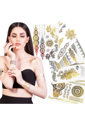Modamarka-Shop Flash Tattoos® Xl 5 Paket