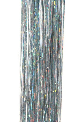 Modamarka-Shop Hair Tinsel Silver Tel Tel
