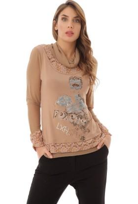 Serpil 13K0217008 Camel Bluz
