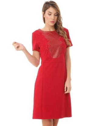 Serpil 14K0418271 Kırmızı Elbise
