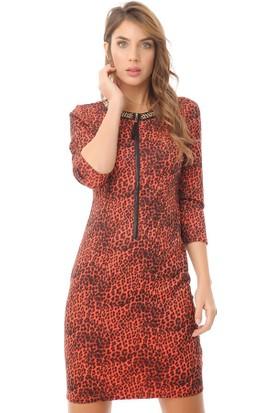 Serpil 14K0418339 Kırmızı Elbise