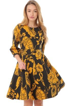 Serpil 13K0417107 Safran Elbise