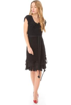 Serpil 13K0417061 Siyah Elbise