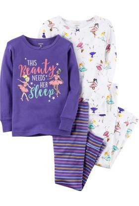 Carter's Kız Çocuk 4'lü Pijama 351G420